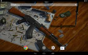 3d guns live wallpaper android apps on google play