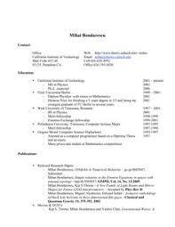 Resume Best Postresumeformat Latestresume66 On Pinterest