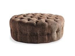 Tufted Leather Cocktail Ottoman by Tufted Cocktail Ottoman Round Cocktail Ottoman Round Leather