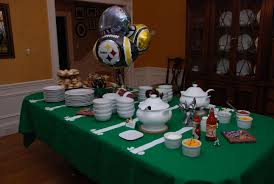 football centerpieces gracious bowl partydecorating bowl party decorating