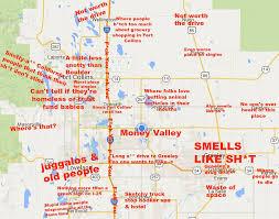 Maps Colorado Judgmental Map Of Northern Colorado