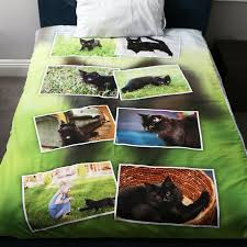 personalized duvet cover collage