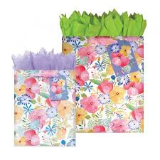 water color petal collection gift bags wrapping paper box wrap
