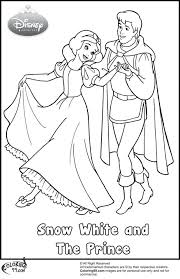 coloring pages snow white coloring pages children snow white