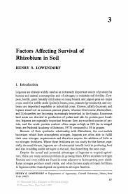 Resume Format Pdf For Eee Engineering Freshers by Factors Affecting Survival Of Rhizobium In Soil Springer