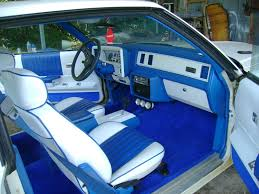 The Beast Car Interior 1984 Monte Carlo Ss Treutlen Upholstery