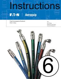 eaton aeroquip assembly instructions how to put together section