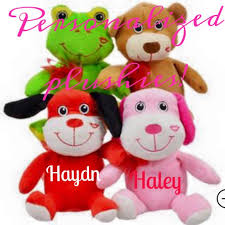 valentines day stuffed animals personalized plushes stuffed animals party