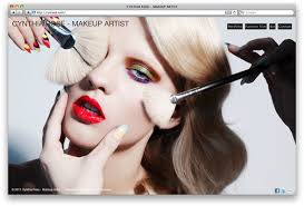 makeup artists websites website make up artist website logo website