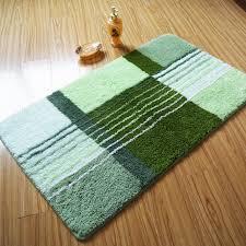 luxury green grid bath rug and mat da6651 wholesale faucet e commerce