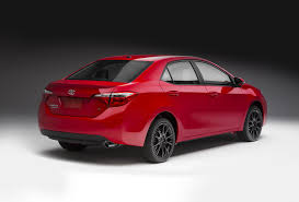 red toyota 2015 toyota corolla special edition and 2015 toyota camry special
