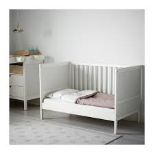 Crib To Toddler Bed Rail Wonderful Sundvik Crib Ikea With Regard To Bed Rails For