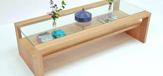 glass coffee table with glass shelf oak and glass table ecda2015 com