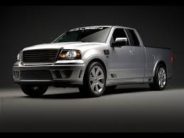 ford saleen truck 2007 saleen s331 sport truck based on ford f 150 side angle