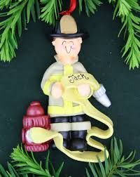 firefighter ornaments cards