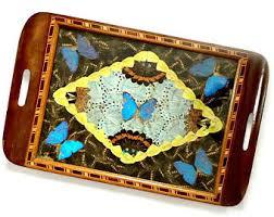 butterfly platter butterfly tray etsy