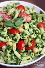 Pasta Salad Recipies by Spinach Avocado Pasta Salad Tastes Better From Scratch