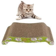 Cardboard Cat Scratcher House Furniture Cool Design Of Cat Scratcher House For Pet Furniture Ideas