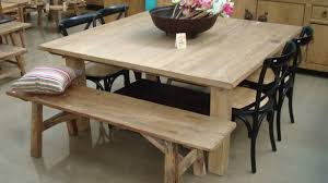 Rustic Dining Room Table Sets Rustic Square Dining Table Dining Room Gregorsnell Rustic Square