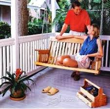 Outdoor Woodworking Projects Plans Tips Techniques by 1815 Adirondack Swing Plans Outdoor Furniture Plans Bricolage