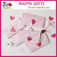 handmade paper magic fold big loving shape greeting cards