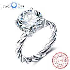 sterling silver wedding gifts 12mm cubic zirconia 925 sterling silver wedding jewelry
