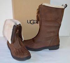 ugg s jardin boot ugg australia leather block heel boots for us size 8 ebay