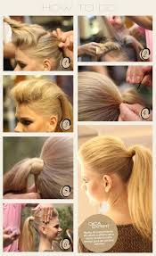ponytail hairstyles for easy high ponytail hairstyle tutorial popular haircuts