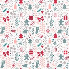 new year wrapping paper merry christmas seamless pattern happy new year background