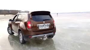 renault duster 2015 renault duster 2015 off road fun drift ice youtube