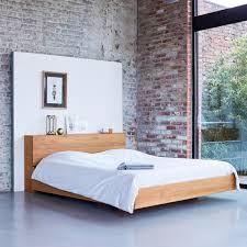 Teak Bed 160x200 Teak Bed Flat Solid Teak Bed Sale At Tikamoon Tikamoon