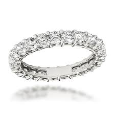 eternity rings diamonds images Platinum cushion cut diamond eternity ring diamond anniversary jpg