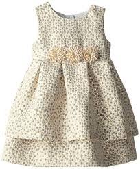 pippa julie brocade dress gold 3t pippa