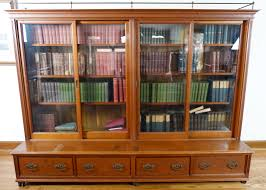 Altra Bookcase With Sliding Glass Doors by Bookcase Glass Doors Antique Pier One Bookcase Vintage Bookshelf