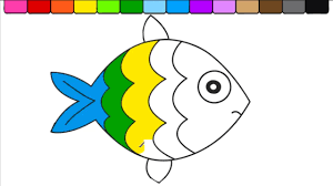sad fish coloring pages for kids fish sad coloring book for