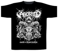 Blind Guardian Shirts Aborted U0027god Of Nothing U0027 T Shirt Heavy Metal Online