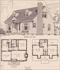 small cape cod house plans portland telegram book 1924 plan 619 this could be our house