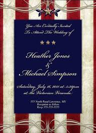 wedding cards usa 4th of july patriotic wedding theme inspirations