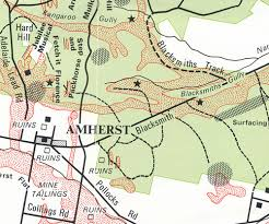 amherst map talbot amherst gold relic map maps books travel guides buy