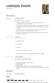 Teachers Resume Examples by Assistant Teacher Resume Samples Visualcv Resume Samples Database