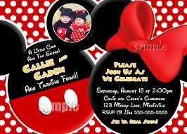 mickey mouse clubhouse printable invitations free printable