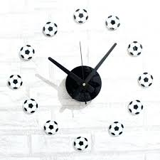 wall clocks soccer wall clock soccer themed wall clock soccer