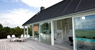 modern cottage design modern cottage design with open plan and dark wooden exterior