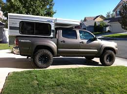 pop up cer toyota tacoma adventure truck retrofitted a toyota tacoma with a bed and drawer