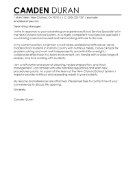 trade specialist cover letter nursing graduate sample cover