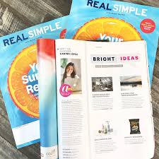 Real Simple Magazine by Realsimple On Topsy One