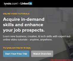 online tutorial like lynda is lynda com a scam you should try it internet scams report