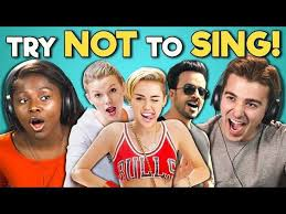 Challenge React College React To Try Not To Sing Along Challenge 2