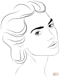 face coloring page alric coloring pages