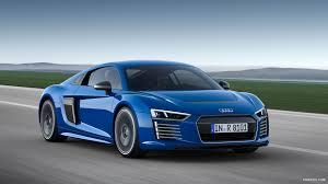 Audi R8 Blue - 2016 audi r8 e tron magnetic blue front hd wallpaper 3